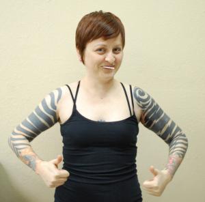 blackwork sleeves tattoos