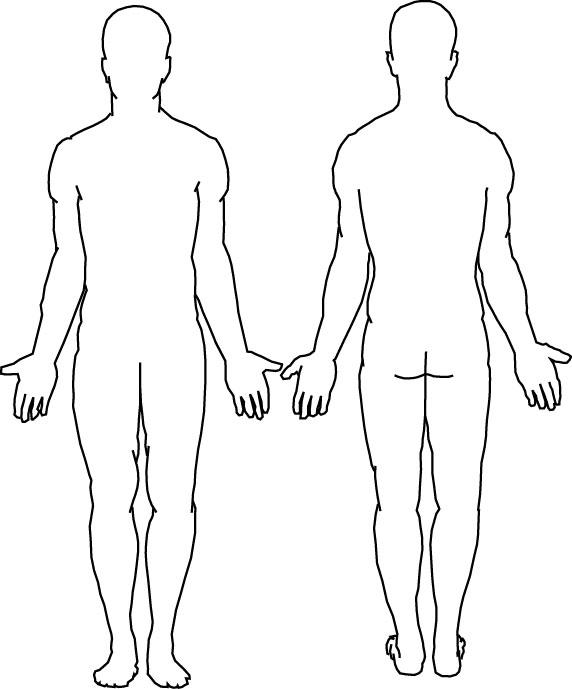 Tattoo Person Diagram