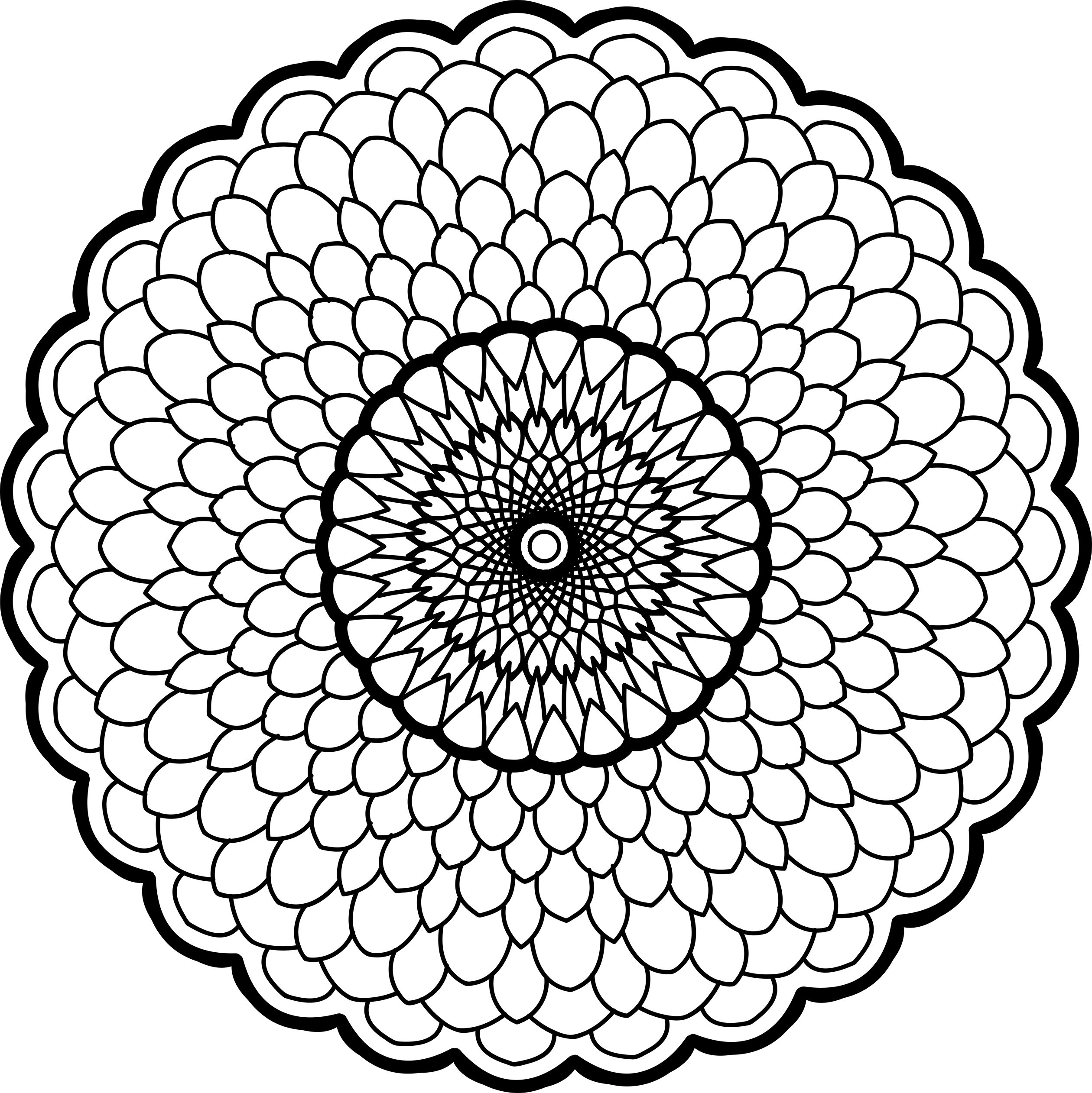 volume four of the geometry and mandala coloring books