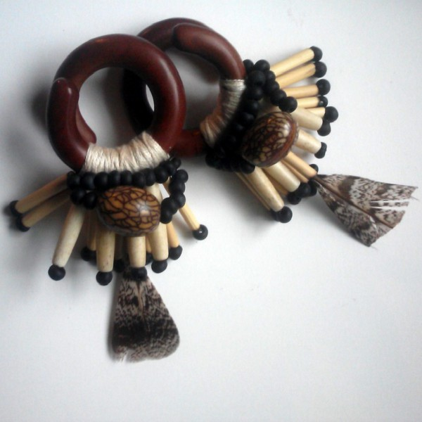 7/16″ Sawa Wood Ear Weights