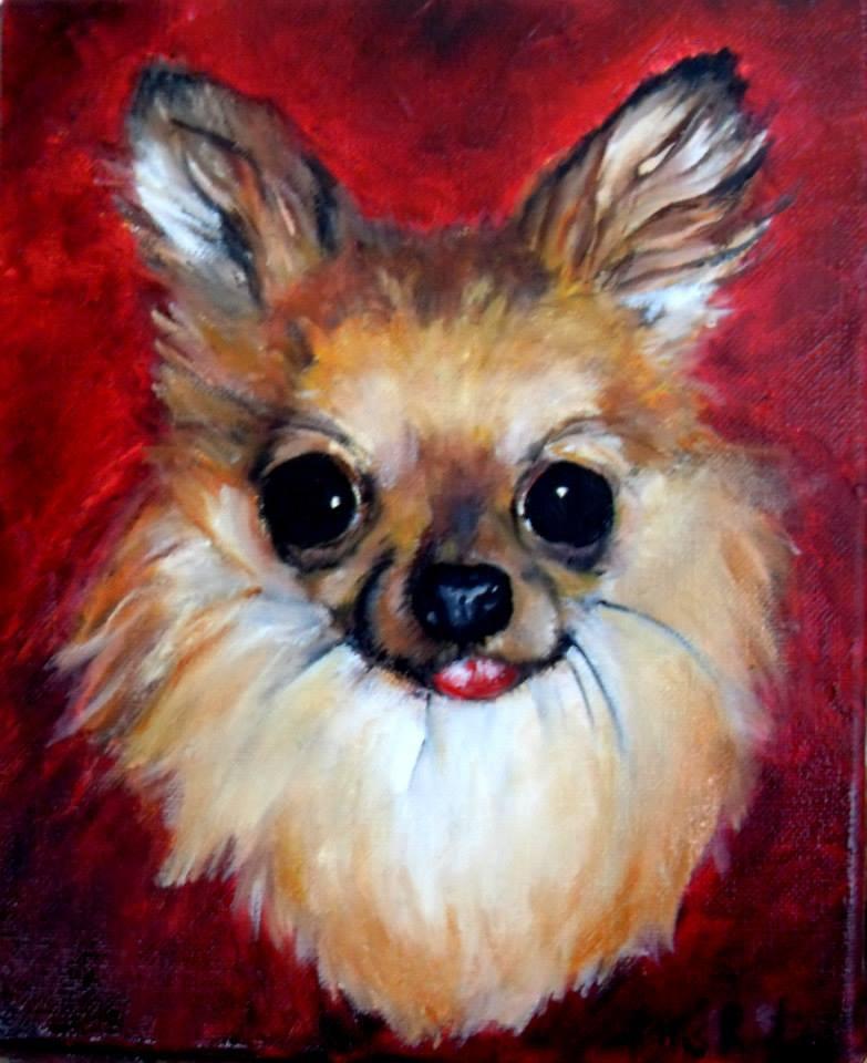 pet portraits by lili chihuahua!