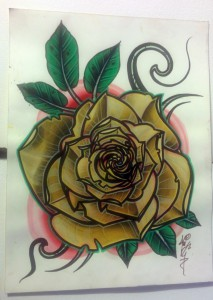 texas yellow rose
