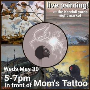 live painting Spokane
