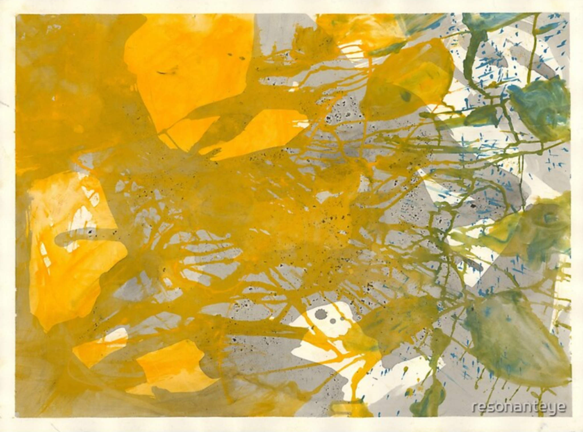 Paintings from Quarantine: Florida, Swamp Drain